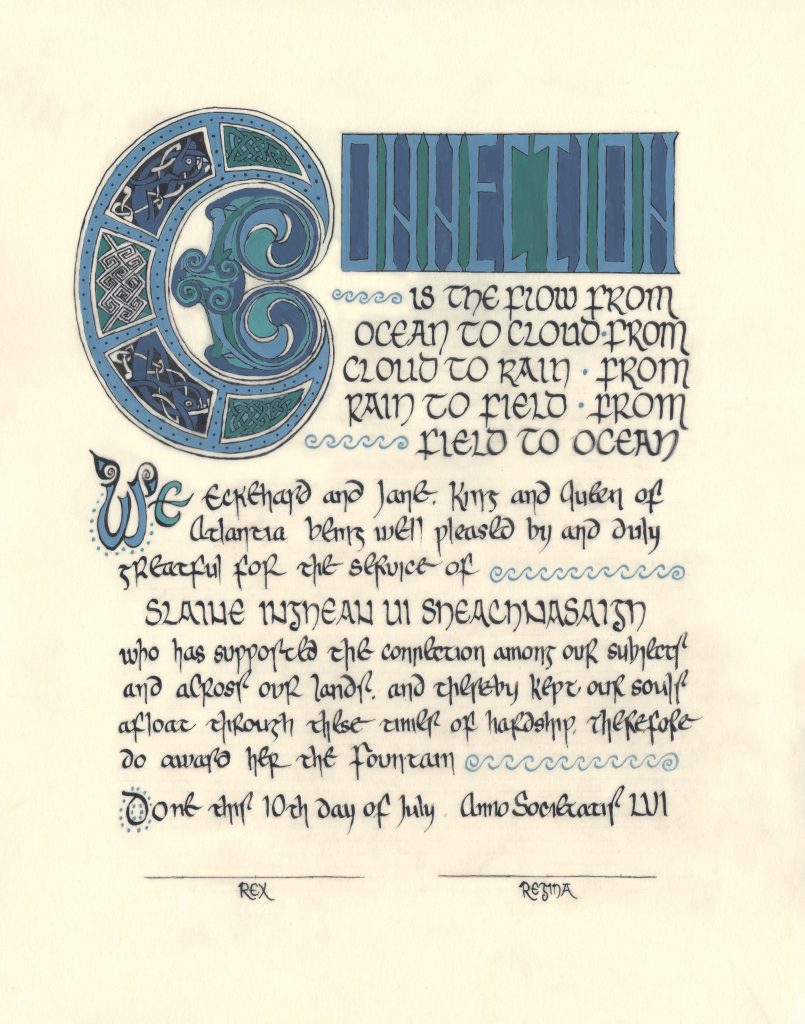 full scan of the scroll